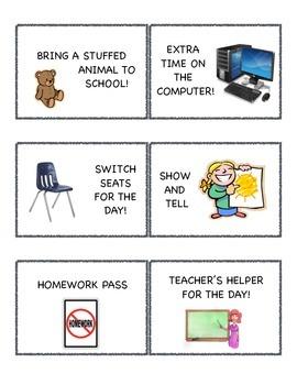 Classroom Coupons / Brain Breaks