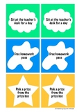 Classroom Coupons (Classroom Reward System)