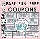 Classroom Coupons Growing Bundle (Class Dojo option!)