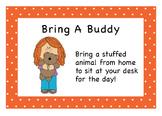Classroom Coupons - Orange Polka Dot