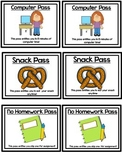 Classroom Coupons Treasure Box Coupons