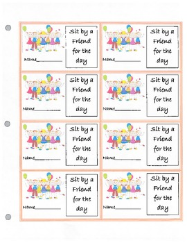 Classroom Coupons/Prizes