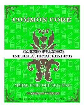 Common Core - Target Practice Informational 1st grade by C