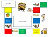 Classroom Crisis (file folder game board)