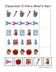 Classroom Critters Back to School PreK Printable Sampler Pack