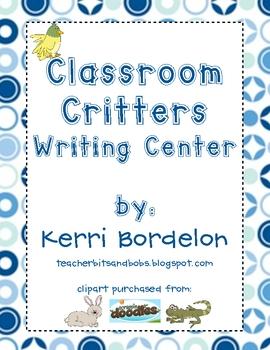 Classroom Critters Writing Center