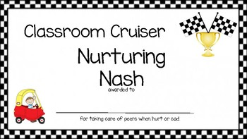 Classroom Cruiser Awards
