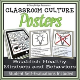 Classroom Culture Posters and Evaluations-Foster a Growth Mindset