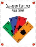 Classroom Currency, Economy, Money, Cash: Apple Theme