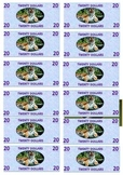 Classroom Currency Featuring Endangered Asian Animals