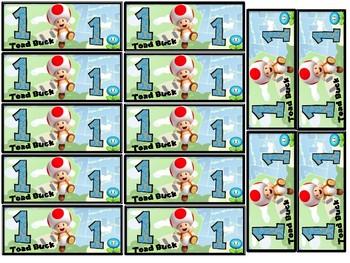 Classroom Currency- Super Mario