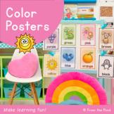 Color Charts / Posters {Classroom Decor}