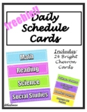 FREE!! Classroom Daily Schedule Cards