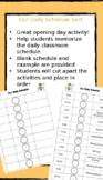Classroom Daily Schedule Scramble