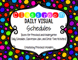 Classroom Daily Visual Schedules {Icons for Jobs, Circle & Schedules}