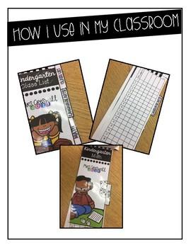 Classroom Data Collection Flip Book
