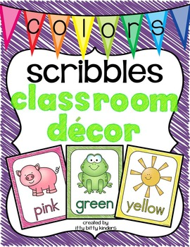 Color Posters: scribbles