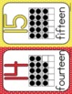 Number Posters: polka dots