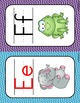 Alphabet Posters: wavy lines