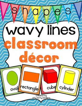 Shape Posters: wavy lines