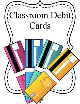 Classroom Debit Cards