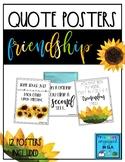 Classroom Decor - 12 Friendship Posters!