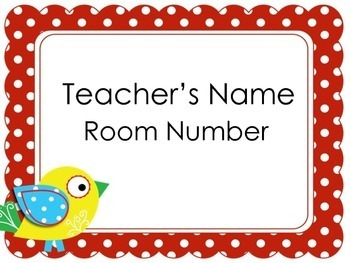 Teacher Door Signs | Printable Door Posters | Door Signs