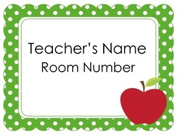 Teacher Door Signs | Door Signs | Door Signs and Names by Green ...