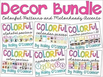 Colorful and Bright Classroom Decor