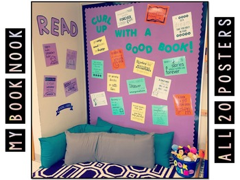 Classroom Decor: 20 Reading Quote Posters