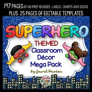 Classroom Decor BUNDLE 2nd Edition (Theme Classroom Bundle)