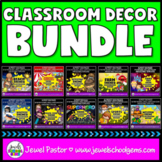 Classroom Decor BUNDLE 2nd Edition (Theme Classroom Bundle)