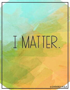 Classroom Decor - 32 Positive Affirmation Posters!