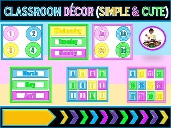 Classroom Decor (Customizeable)