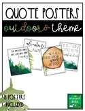 Classroom Decor - 8 Outdoors Posters!