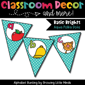 Classroom Decor:  Alphabet Letter/Sound Bunting