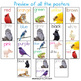 Classroom Decor Alphabet Posters, Numbers Posters, Colors Posters Images Bundle