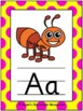 Classroom Decor - Alphabet Posters