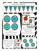 Classroom Decor Animal Print and Turquoise