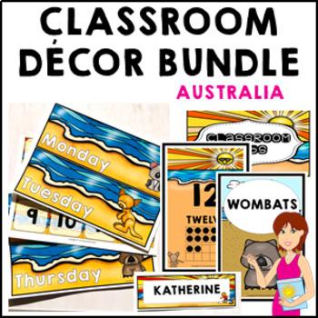 Australia Classroom Decor Theme Bundle