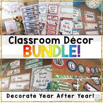Classroom Decor BUNDLE!