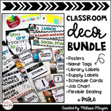 Classroom Decor BUNDLE - Black & White