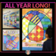 ALL YEAR Collab Poster BUNDLE for Doors & Bulletin Boards: Christmas Included