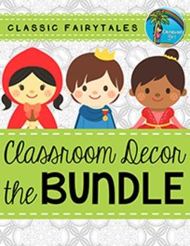 Classroom Decor BUNDLE {Fairytale Theme}