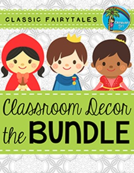 Classroom Decor BUNDLE {Fairytale Theme}