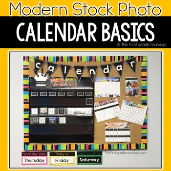 Classroom Decor BUNDLE, Modern Stock Photo Styled