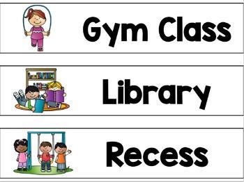 Classroom Decor Back to School Bundle