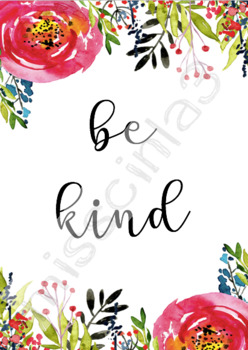 Classroom Decor - Be Kind
