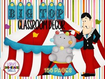Classroom Decor - Big Top