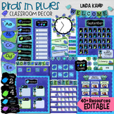 Classroom Decor Birds in Blues Everything You Need BUNDLE